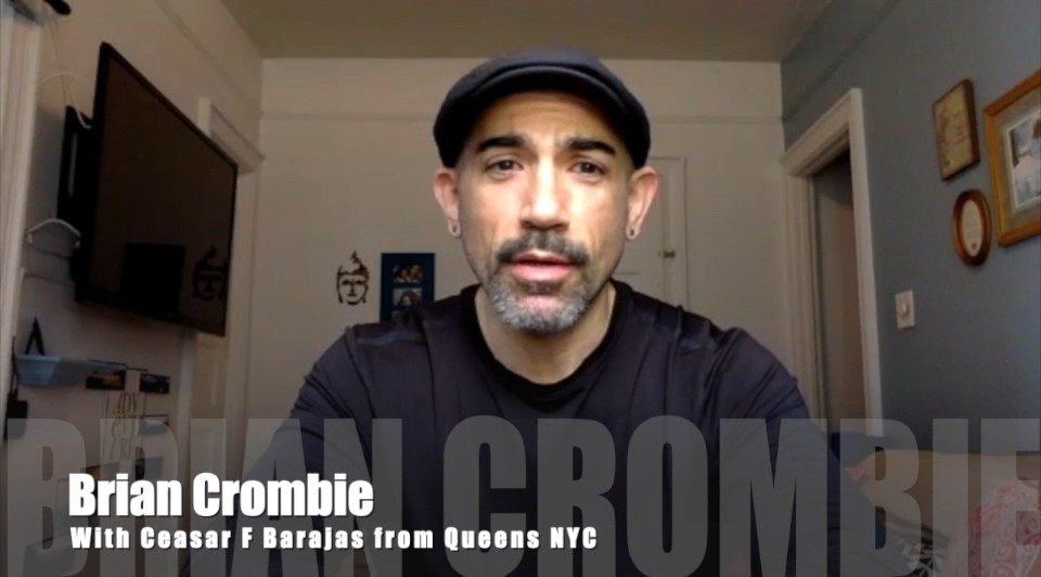 Brian Crombie Ceasar F. Barajas from Queens, NYC