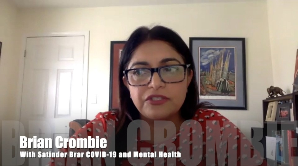 Brian Crombie Satinder Brar COVID-19 and Mental Health
