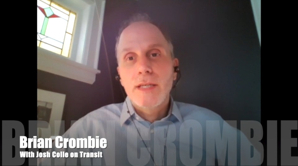 Brian Crombie Josh Colle on Transit