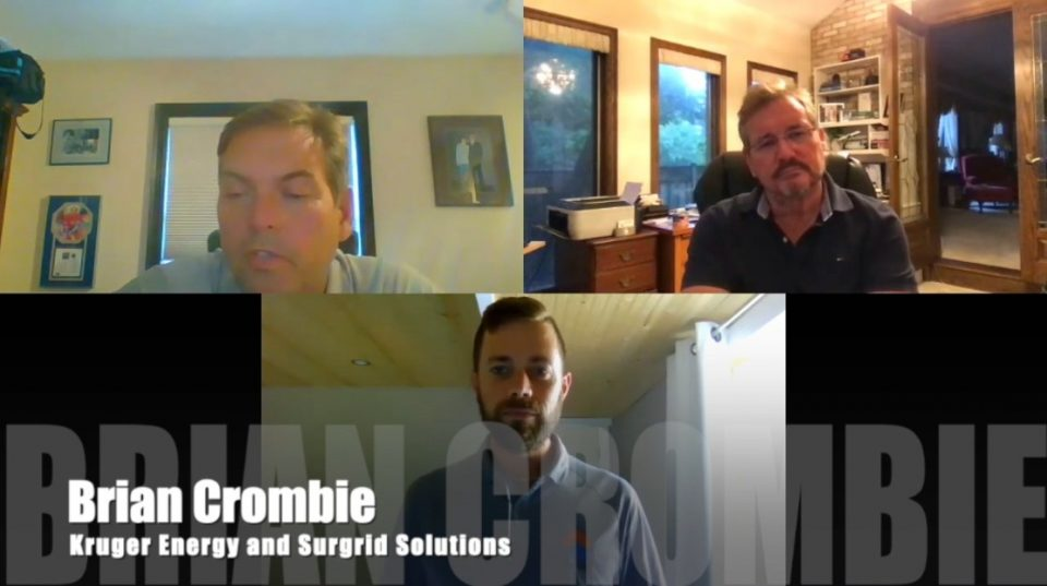 Brian Crombie Kruger Energy and Surgrid Solutions
