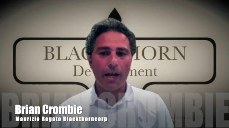 Brian Crombie Maurizio Rogato Blackthorncorp
