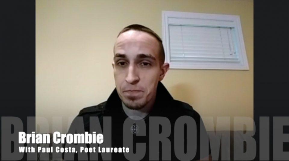 Brian Crombie Paul Costa Poet Laureate